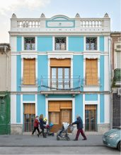 Residential Building Renovated in El Cabanyal, Spain